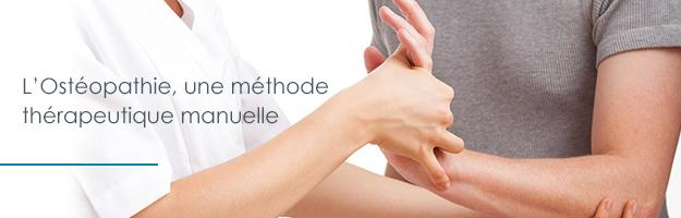 L'Ostéopathie, une méthode thérapeutique manuelle