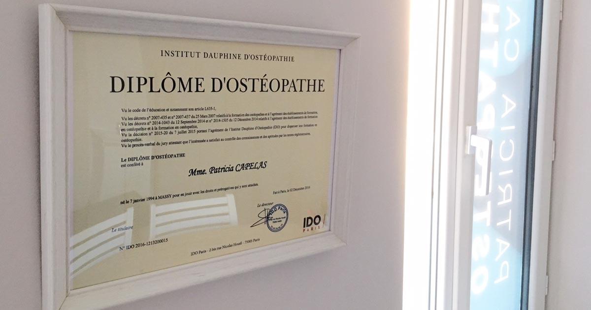 Cabinet Ostéopathie Saint-Michel-sur-Orge